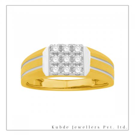 Diamond FingerRing-Kubde Jewellers Shop